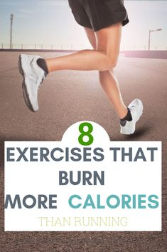 8 amazing Exercises that burn more calories than running. Forget about running, who says you have to run to lose weight? There are several exercises that can help you burn fat and lose calories faster than running. Check them out! Weight Loss Blogs, Weight Loss For Women, Weight Loss Program, Easy Weight Loss, Weight Loss Motivation, Fitness Motivation, Diet Program, Fitness Plan, Help Losing Weight