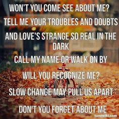 Dont you forget about me-Simple Minds