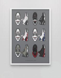 Jordan 3 • Retro Collection