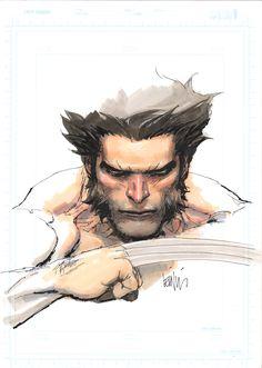 quick wolvy marker sketch by leinilyu.deviantart.com on @deviantART