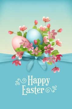 Happy Easter Card stock photo (c) kostins ( Easter Wishes Messages, Happy Easter Wishes, Happy Easter Greetings, Easter Backgrounds, Easter Wallpaper, Easter Colouring, Easter Pictures, Easter Season, Easter Parade