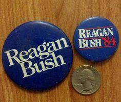 Reagan - Bush re-elected just a year after the deaths of 221 US Marines, Marine Barracks, 40th President, Reagan Bush, Us Army Soldier, Presidential Libraries, Navy Sailor, Us Marines, Ronald Reagan, Ribbons