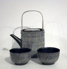 ceramic teapot and cups by Rupert Spira