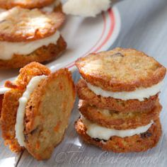 Carrot Cake Cookies with Oatmeal & Macadamias