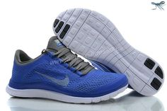 Womens White Cool Grey Violet Force Shoes Nike Free 3.0 V5 580392-510