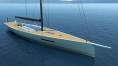Philippe Briand presents new 30m Carbon Sloop