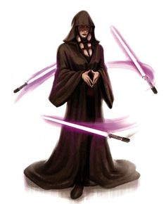 To me, Darth Traya is the most well-written character in the entire Star Wars universe.
