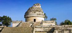 """El Caracol (Observatorio Maya) en Chichén Itzá, Yucatán. """"El Caracol"""" (The Mayan Observatory) in Chichen Itza, #Yucatan, #Mexico."""