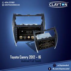 http://www.claytondubai.com/android-fta/ #toyota #camry #full #touch #android #navigation #gps #cargps #carnavi #dubai #clayton #car #uae