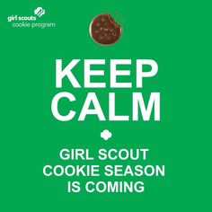 It's almost Girl Scout Cookie Time!