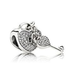 >>>Pandora Jewelry OFF! >>>Visit>> Fits for Pandora bracelets Heart lock and Key Silver charms New Original sterling silver beads DIY women jewelry Wholesale Charms Pandora, Pandora Beads, Pandora Bracelets, Pandora Jewelry, Charm Jewelry, Charm Bracelets, Charm Bead, Pandora Uk, Pandora Charms