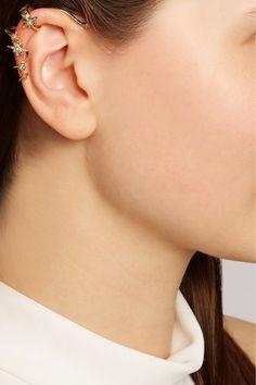 Venyx|Lady Borealis 18-karat gold diamond ear cuff|NET-A-PORTER.COM