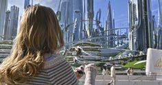 Britt Robertson in Disney's #Tomorrowland.