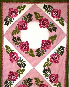 June Roses Bed Runner #545