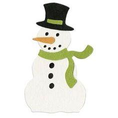 Lifestyle Crafts Dies, Snowman