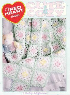 Cute Baby Afghan Crochet Patterns  7 Cute & Cozy por PaperButtercup, $5.50