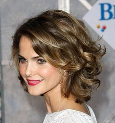 Keri Russell's soft waves