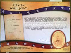 When I visited Springfield, Illinois this summer, I found a very interesting plaque at the Old State House downtown. It told the story of John Jones and his activism against Illinois's Black … Happy Birthday John, Springfield Illinois, Ordinary Lives, Problem Solving, Philosophy, Activities, Education, Words, Summer