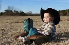 baby and boots