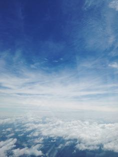 flying in the blue skies.