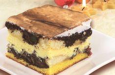 Ciasto ucierane serowo-makowe