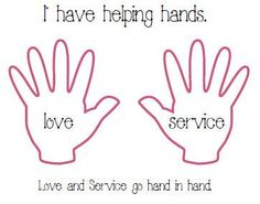 serve god coloring pages love and service go hand and hand above helping hands craftsunday school