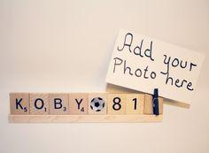 Soccer Photo, Soccer Frame, Custom Frame, Personalized Frame, Sports Photo Holder, Soccer Player Photo, Sports Photo, Sports Frame, Soccer