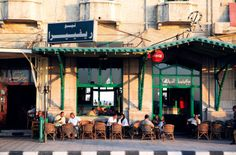 Food and Travel Cafe Exterior, Alexandria, Bella, Egypt, Coffee, Travel, Traditional, Buildings, Viajes
