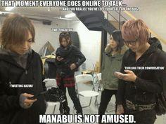 Byou. Kazuki. Manabu. Rui. SCREW.