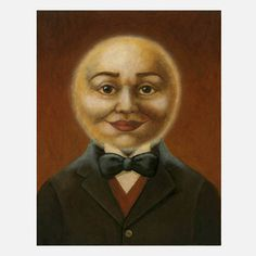 Moon Man Portrait now featured on Fab.