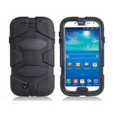 Drop Armor Black Samsung Galaxy S4 Case