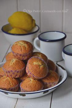 Cocinando con Kisa: Magdalenas de limón con harina de avena (KitchenAid)