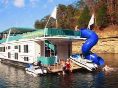 80-foot Mystic Houseboat rental at Lake Cumberland
