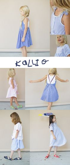 petit à petit and family: KaLLio sustainable kids clothes from men's shirts.