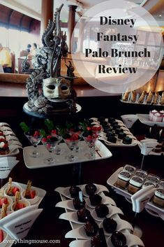 Is a Disney Palo Brunch a great option on a Disney cruise? Is it worth the $30 extra charge? Read our review of a Disney Fantasy Palo Brunch to decide if it is something that you want to do on your next cruise.