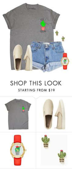 """Can't touch this"" by flroasburn on Polyvore featuring Levi's, Gap and Kate Spade"