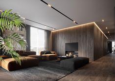 This apartment for young family. Home Room Design, Home Interior Design, Living Room Designs, Casa Milano, Japanese Interior Design, Apartment Interior, Modern House Design, House Rooms, Luxury Interior