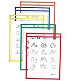 C-Line Reusable Dry Erase Pockets, 9 x 12 Inches, Assorted Primary Colors, 10 Pockets per Pack (40610) C-Line, a leading manufacturer of office supplies with a product line that features https://thehomeofficesupplies.com/c-line-reusable-dry-erase-pockets-9-x-12-inches-assorted-primary-colors-10-pockets-per-pack-40610/