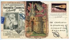 'Mr. Churchill's Tower' by Nick Bantock.