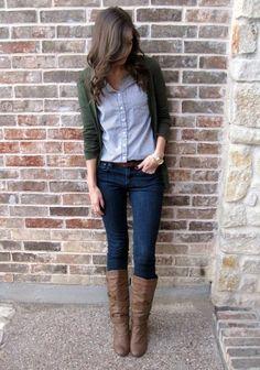 Beautiful Cardigan Outfit.