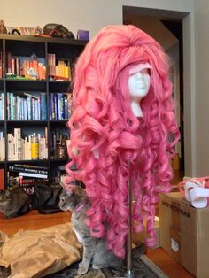 Rose Quartz wig progress