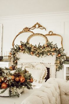 November is a great month to start transitioning your fall decor into winter. This transition shows there is more to get cozy winter decor this christmas Country Christmas, Simple Christmas, Christmas Home, Christmas Holidays, Christmas Ideas, White Christmas, Holiday Ideas, French Christmas Decor, Christmas Trimmings