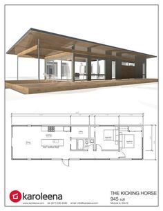 12 Ideas container house luxury floor plans for cabin - Karoleena Homes Container House Design, Tiny House Design, Modern House Design, Cabin Design, Modular Home Floor Plans, House Floor Plans, Modern Home Plans, Luxury House Plans, Small House Plans
