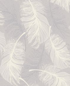 Feather Lilac wallpaper by Coloroll
