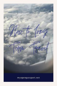 Traveling long term is definitely possible with the right mindset. In this article I go through my own mindset and how I am able to extend my travels for a long time. #howtotravelongterm #longtermtravel #travelinglongterm