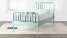 Jenny Lind Teal Twin