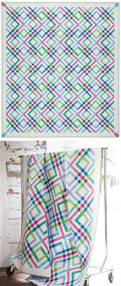 Plaid Quilt Kit