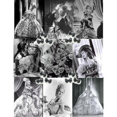 Marie Antoinette with Norma Shearer and Tyrone Power with the most amazing costumes by Adrian. <3