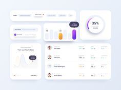 Insurance Dashboard and Figma Design System by Dimitar Ivov on Dribbble Dashboard Ui, Dashboard Design, Ui Design, Design Elements, User Flow, Music App, Ui Web, Design System, Web Application