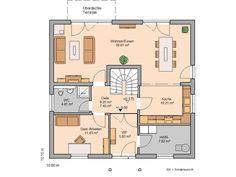 Kern-Haus Familienhaus Magnum Grundriss Erdgeschoss